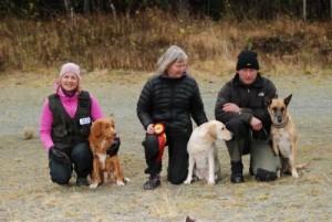 Elite Fra venstre: Elisabeth Stene, Solfrid Buvik og Anders Svare