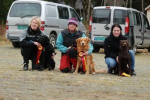 Klasse 3: Fra venstre: Agneta Dalbakk, Emma Båtnes og Linn Thevik