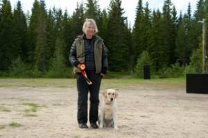 Klasse III: Solfrid Buvik med Sæterskogen's Nirrill Gulldusk