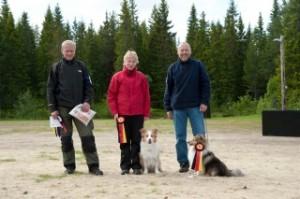 Klasse Elitefra venstre: Anders Svare, Katja Sulkala, Jostein Engdal.